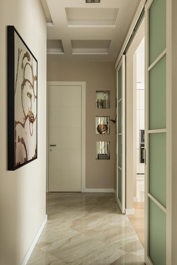 Фото №12 - Квартира 99 м², вдохновленная русским балетом и пирожным «Павлова»