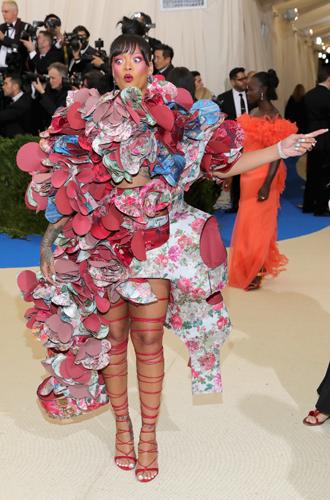 Фото №8 - MET Gala 2017: кто рискнул соблюсти дресс-код бала