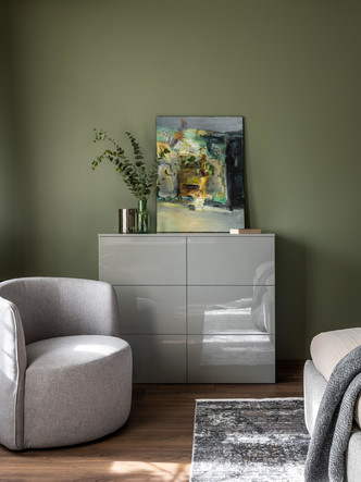 Фото №11 - Серый + горчица: уютная квартира 108 м² в Самаре