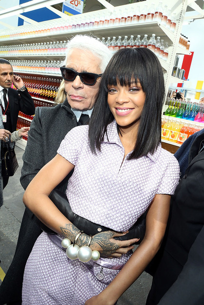 Рианна (Rihanna), Chanel, Карл Лагерфельд (Karl Lagerfeld)