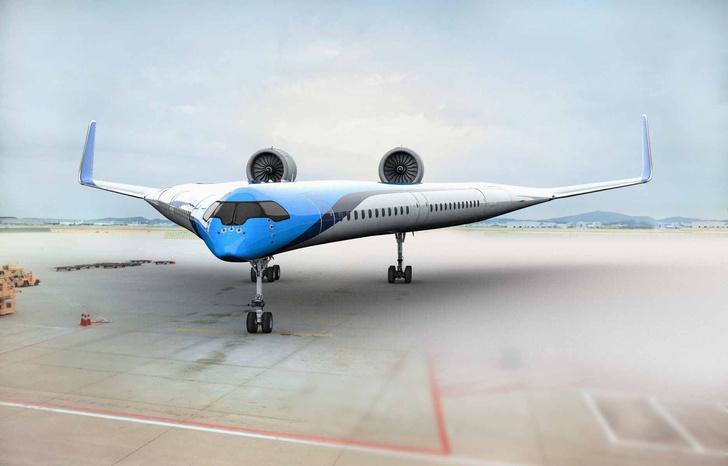 Фото №2 - Самолет с местами для пассажиров в крыльях успешно совершил первый полет