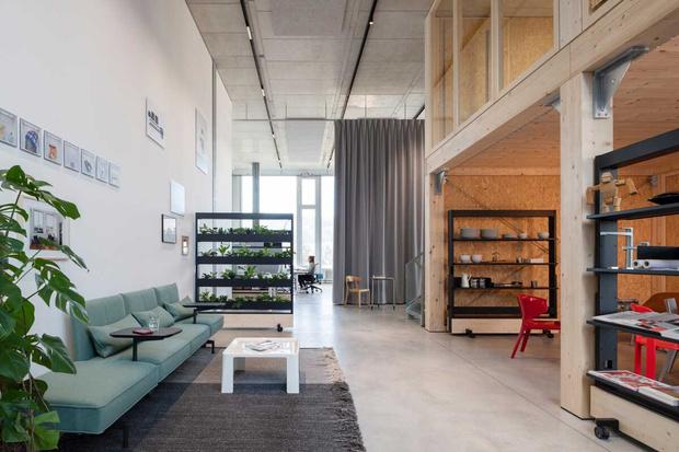 Фото №3 - Танцующий офис: студия дизайнера Стефана Хюрлеманна