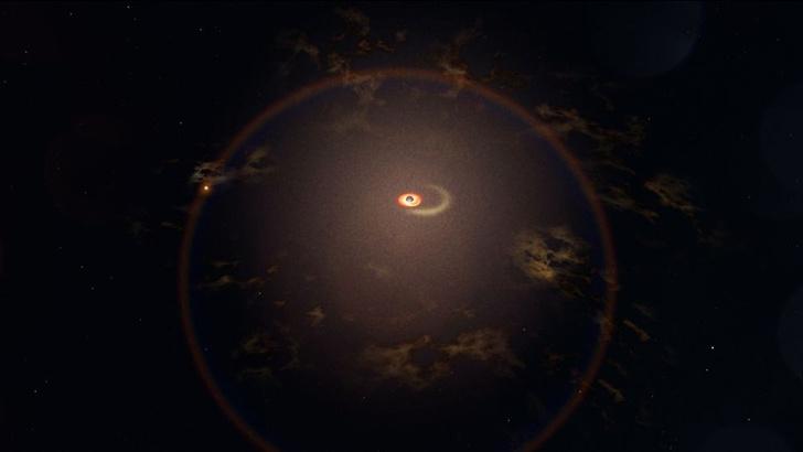 Фото №1 - В далекой галактике зафиксированы загадочные вспышки