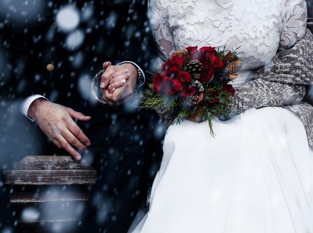 Фото №3 - 7 причин отметить свадьбу зимой