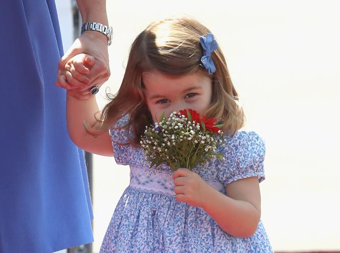 Фото №23 - Принцесса Шарлотта Кембриджская: третий год в фотографиях