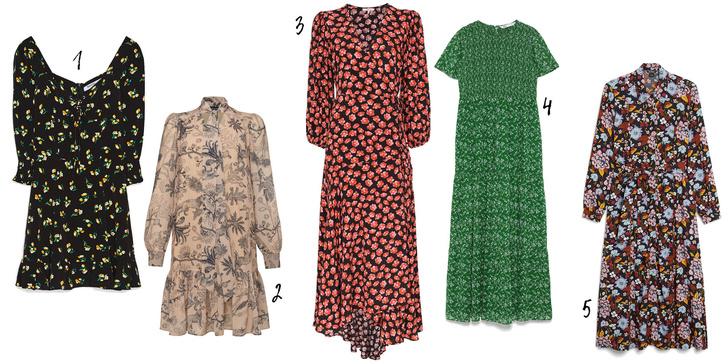 Фото №3 - Что купить: 5 цветочных платьев, в которых ты встретишь весну