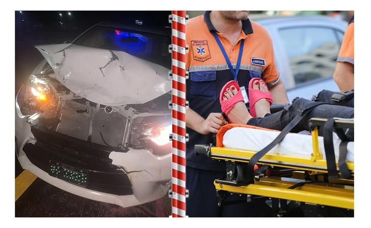 Фото №1 - Попавшая в аварию после Хеллоуина девушка напугала врачей бутафорской кровью