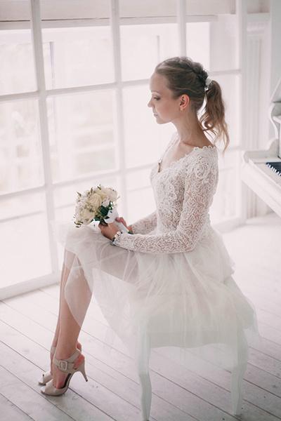 Фото №7 - Под марш Мендельсона: актуальные тренды свадебной моды