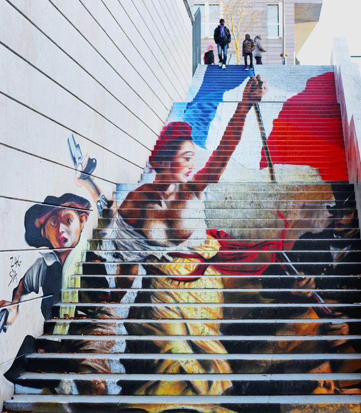 Фото №6 - Краски города: 10 знаменитых граффити