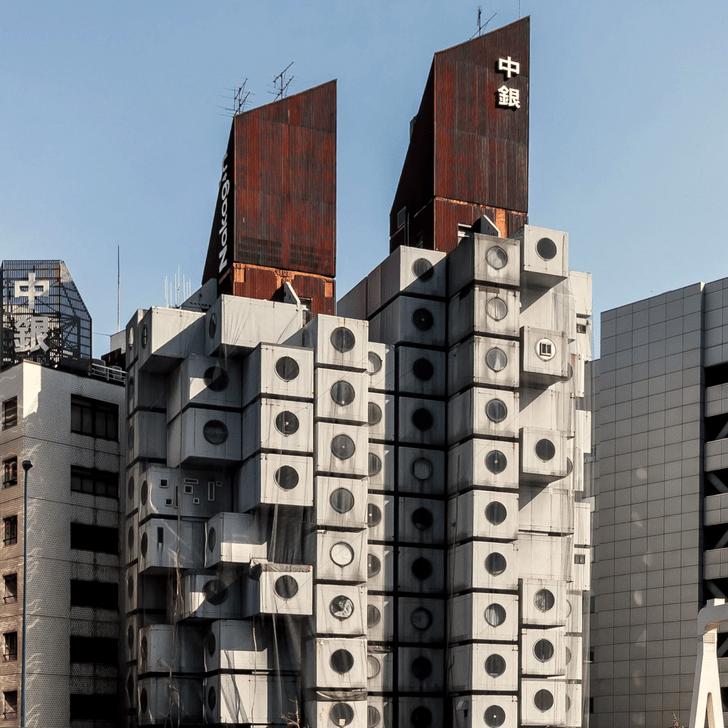 Фото №2 - Капсульная башня Накагин в Токио будет демонтирована