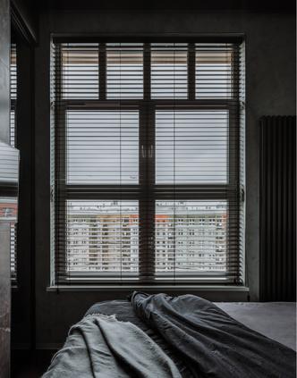 Фото №8 - Брутальная квартира 43 м² для любителя острых ощущений