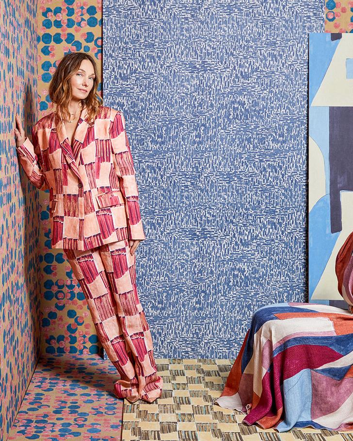 Фото №10 - Новая коллекция ткани и обоев от Келли Уэстлер