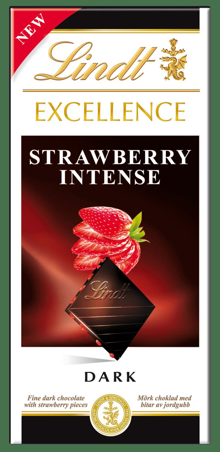 Фото №1 - Lindt представляет новый шоколад «Excellence клубника»