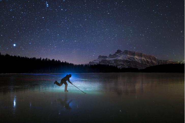 Фото №1 - Хоккей под звездами