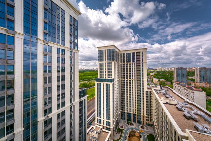 Фото №1 - Квартал апартаментов «Матч Поинт» как синоним «нового Кутузовского проспекта»