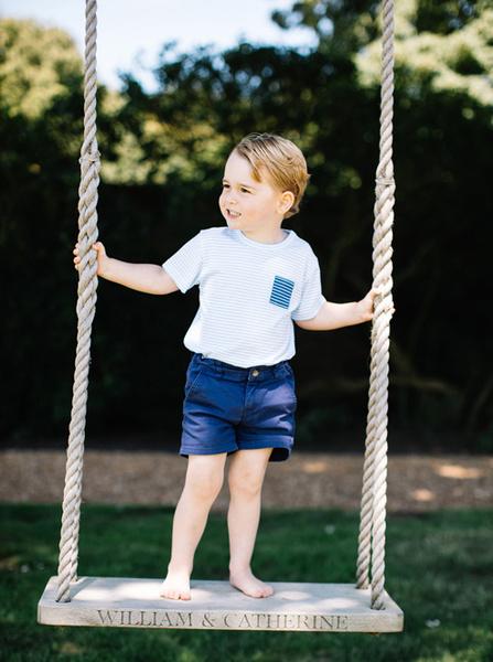Фото №3 - С днем рождения: новые фото принца Джорджа