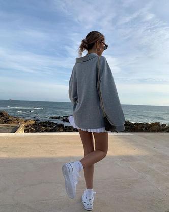 Фото №6 - С чем надеть белые кроссовки?