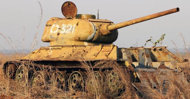 Фото №10 - Трофей из России— легендарный Т-34 на службе вдали от дома