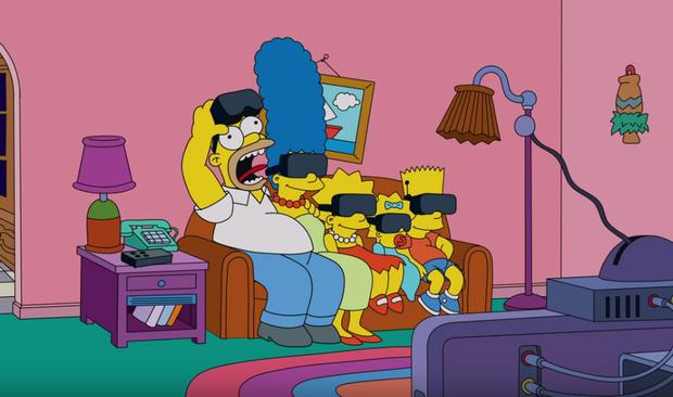 Фото №1 - Заставка к новому эпизоду «Симпсонов»— в духе карантинных трендов (видео)