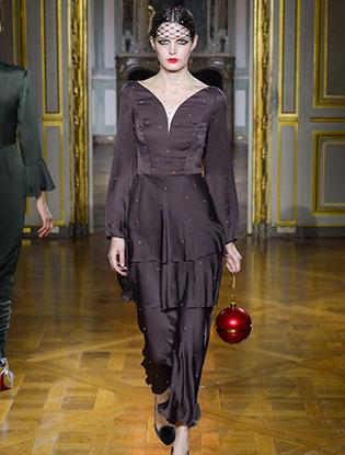 Фото №22 - Неделя Высокой моды в Париже: Ulyana Sergeenko Couture F2015