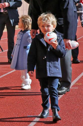 Фото №5 - Как княгиня Шарлен приучает детей к спорту