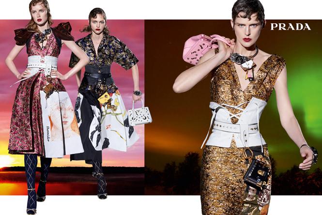 Фото №5 - 27 ярких моделей в осенней рекламной кампании Prada