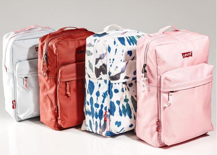 Фото №1 - Удиви одноклассников! При покупке рюкзака Levi's дает возможность получить модный кастом