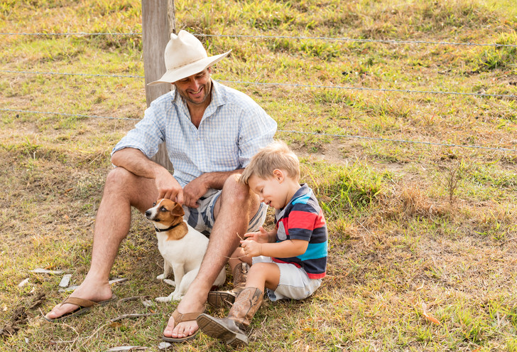 Фото №2 - Почему ребенку обязательно нужно играть с папой