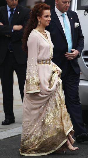 Фото №11 - Принцы, королевы, султаны: как выглядели монаршие гости свадьбы Кейт и Уильяма