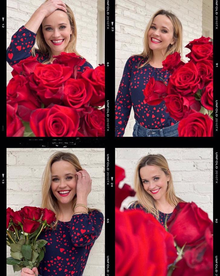 Фото №3 - 1000 и 1 роза: «цветочные» признания в любви для Приянки Чопры, Риз Уизерспун и Николь Шерзингер