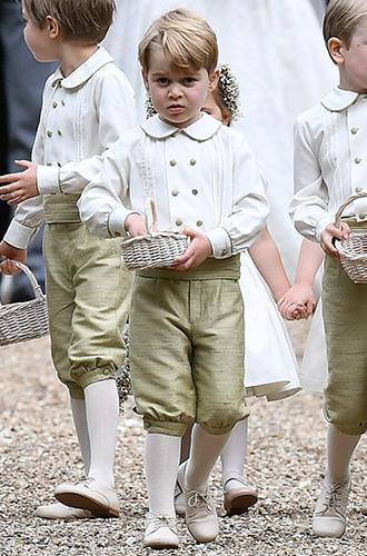 Фото №4 - Принцесса Шарлотта и принц Джордж на свадьбе Пиппы Миддлтон (фото)