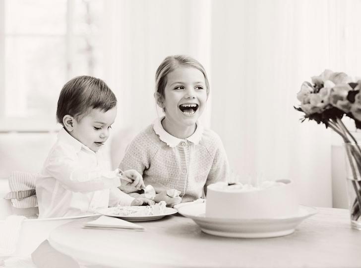 Фото №1 - Ее Королевское очарование: принцессе Эстель 6 лет