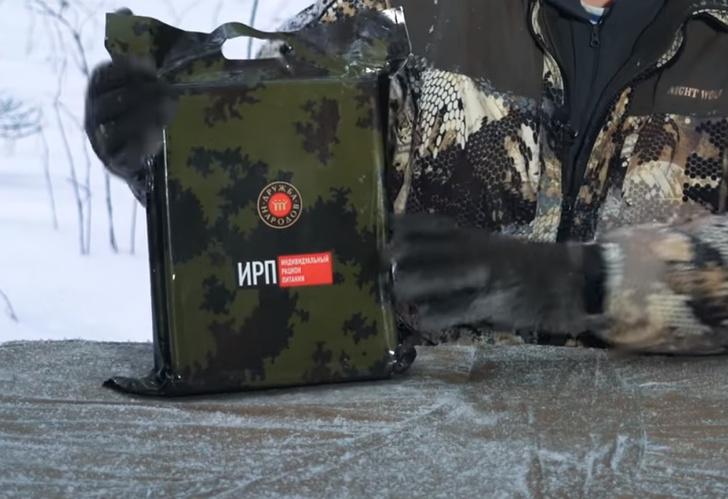 Фото №2 - Чем питаются росгвардейцы в Крыму: обзор сухпайка