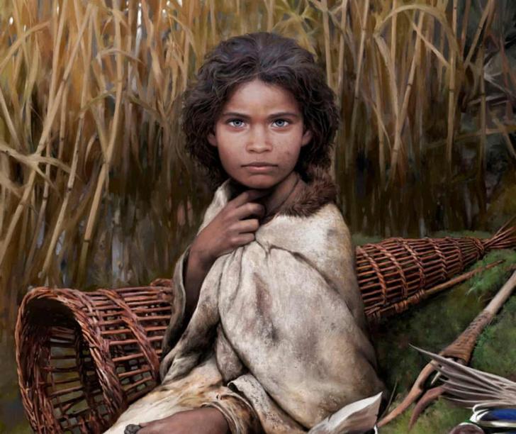 Фото №1 - Ученые восстановили внеешность девушки каменного века по куску «жвачки»