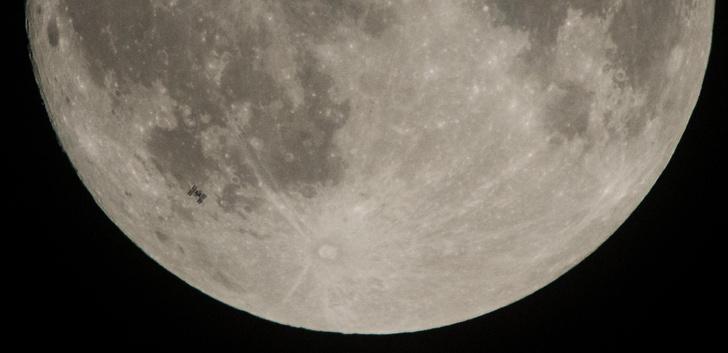 Фото №1 - На Луне нашли гигантские запасы воды