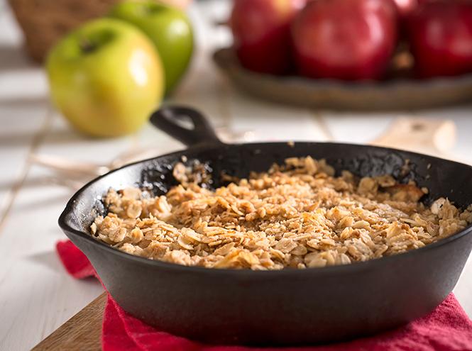 Фото №2 - Рецепты осени: яблочный крамбл