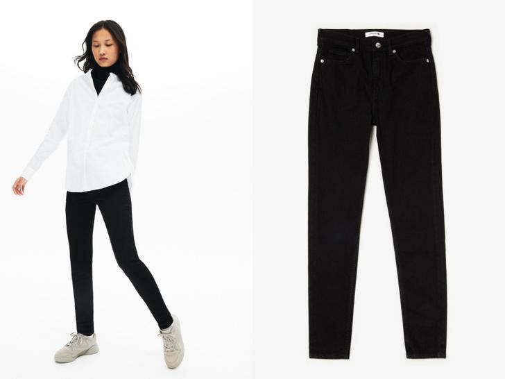 Фото №5 - Актуальные черные джинсы, которые стройнят