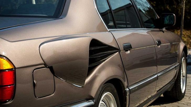 Фото №4 - «Золотая рыбка» с ушами Чебурашки: безумный проект гиперседана BMW
