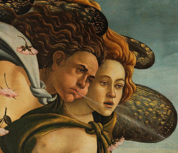 Фото №4 - 14 символов, зашифрованных в «Венере» Боттичелли