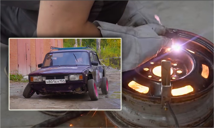 Фото №1 - Мужики разбалансировали автомобилю колеса и проверили, как он поведет себя на дороге (видео)
