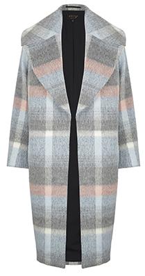 Фото №2 - Вещь дня: Пальто в клетку Marks & Spencer