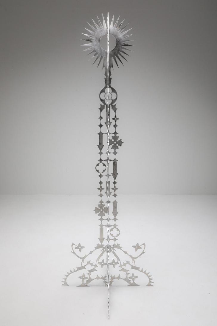 Фото №4 - Ornamentum: коллекция ажурной мебели из алюминия