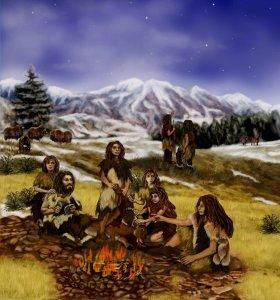 Фото №1 - Неандертальцы могли разговаривать