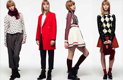 Вещи красного цвета - must have сезона осень-зима 2011 - 2012
