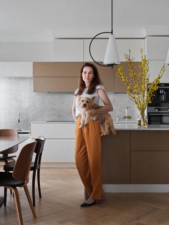 Фото №3 - Современная квартира с винтажной мебелью