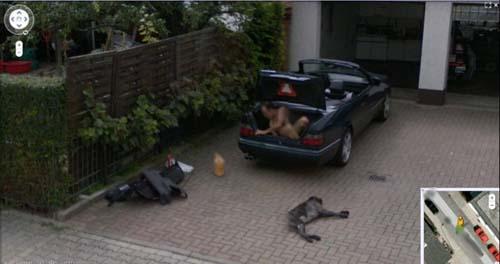 Фото №1 - 20 самых смешных и странных кадров Google Street View
