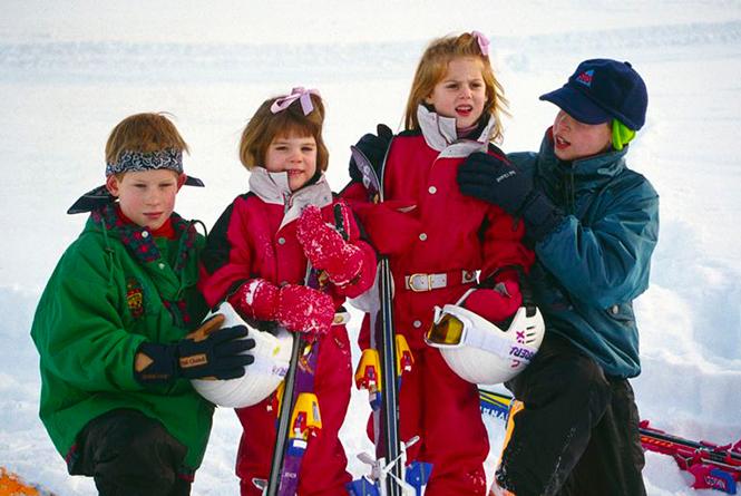 Фото №4 - Это семейное: принц Джордж встал на горные лыжи