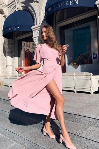 Фото №1 - Топ-5 платьев, которые подходят и для офиса, и для свидания