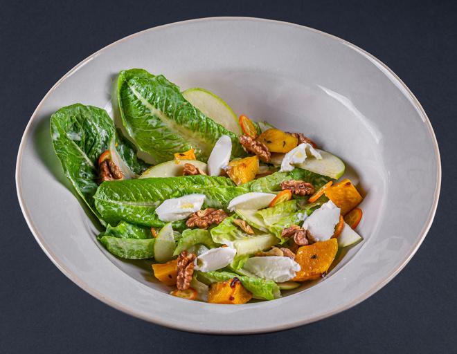 Салат с тыквой как в ресторане рецепт с фото