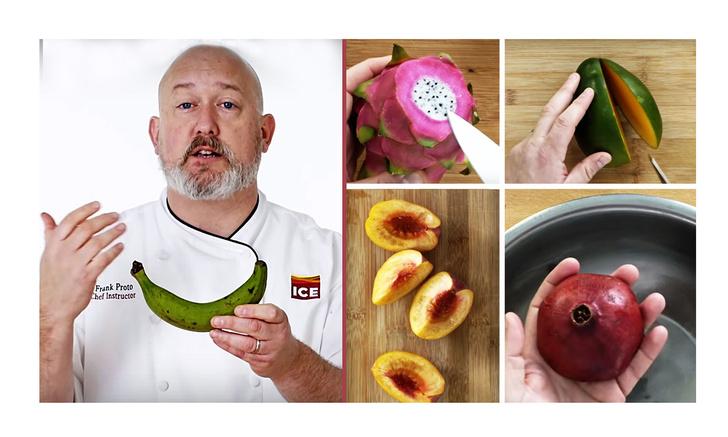 Фото №1 - Разделать 36 ягод, фруктов и плодов как в дорогом ресторане: видео от крутого шеф-повара